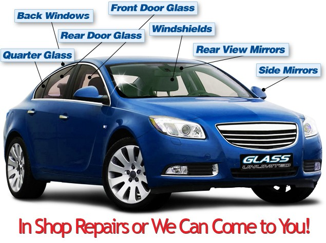 Where can you buy replacement automotive glass?